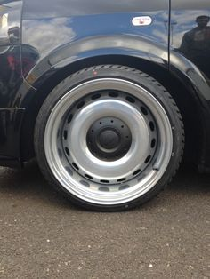 """19"""" Banded steels.. Made from BMW X5 spare to fit VW T5.. Yes, Yes, Yes!"""