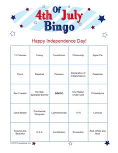 4 of july games
