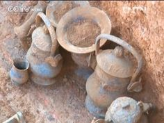 130 Tombs Uncovered in Yejiashan, China. Excavations have Discovered Rare Painted Bronze Ware- People's Daily Online