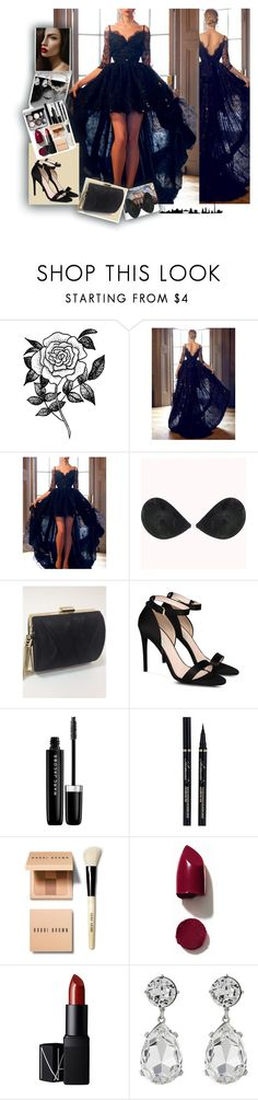 """SimpleDress#14"" by mila96h ❤ liked on Polyvore featuring Forever 21, STELLA McCARTNEY, Chanel, Marc Jacobs, Bobbi Brown Cosmetics, NARS Cosmetics, Kenneth Jay Lane, Marchesa and simpledress"