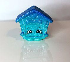Shopkins Season 4 Ultra Rare Glitter *Pup-E-House*  Doghouse NEW RELEASE