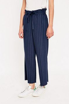 Light Before Dark Stripe Co-Ord Trousers - Urban Outfitters