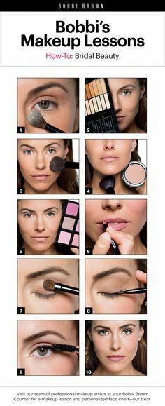 Makeup Lessons, Makeup Tips, Beauty Makeup, Makeup Ideas, Beauty Tips, Drugstore Beauty, Make Up Tutorials, Bobbi Brown, Bridal Beauty