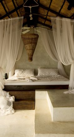 Rustic and remote, Coqui Coqui Tulum Residence & Spa hotel lures romance-seekers to a stretch of pristine white sand in the Riviera Maya with gloriously simple lodgings and a spa with ocean-inspired treatments.