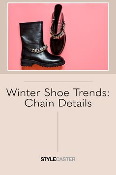 STYLECASTER | Winter Shoe Trends | chain details on boots shoes | winter shoes for women | winter shoes 2021 | trendy shoes | trendy winter shoes | winter boots Rain Boots, Shoe Boots, Steve Madden Loafers, Winter Shoes For Women, Chelsea Ankle Boots, Workwear Fashion, Winter Tops, Trendy Shoes, Barefoot