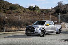 "Custom Widebody Ford F150 on 24"" forgiatos"