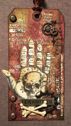 that crazy chick: Beyond; Oct 2016 #timholtz #rangerink #sizzix #stampersanonymous #halloweencard