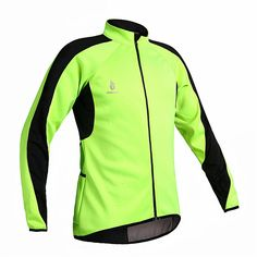 32.00$  Watch now - http://alioro.worldwells.pw/go.php?t=32676954479 - WOSAWE Fleece Thermal Cycling Cycle Long Sleeve Jersey Winter roupas de ciclismo Jacket Windproof Wind Coat Bicycle Wear 32.00$