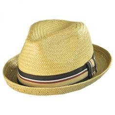 266d49f6245 Brixton Hats Castor Toyo Straw Fedora Hat Straw Fedora