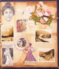 Inside Back Cover of PEI Blue Album