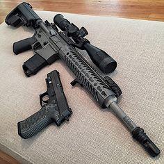 Ninja Weapons, Weapons Guns, Airsoft Guns, Guns And Ammo, Ps Wallpaper, Ar Rifle, Armas Ninja, Submachine Gun, Custom Guns