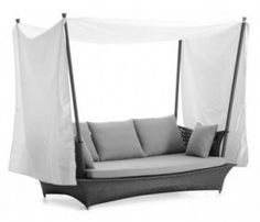 Tov Furniture Goa TOV65TENTSOFALOUNGE Tent Sofa Lounger