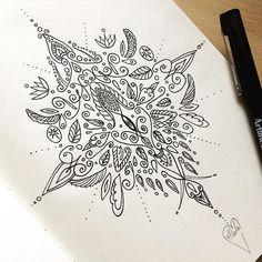 ⚜ North ⚜  #ornamentaltattoo #sketch #roughdraft #pencil #tattoodesign #ornamental #star #blackwork #linework  #myart #filigree #floral #wings #north #tattoo #inkart #compass #direction #damask #drawing #passion #arttherapy #pattern #SundayMorning #morningvibes #lace #lacetattoo #sternumtattoo #selenecassidy