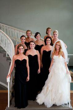 Black and White Wedding Ideas - Amanda  David | Photographer: Matt Blum Photography