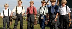The Boys of Lancaster, Pennsylvania- there's a genius to the way the Amish play baseball.