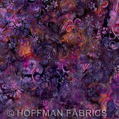 "Hoffman Batiks - ""Bali Handpaints (August 2012)"""