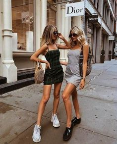 10 Summer Fashion Mistakes to Avoid 10 Summer Fashion Mistakes to Avoid,Party outfit Grab your BFF, get matching dresses and paint the town red. Fashion Mode, Womens Fashion, Fashion Trends, Ladies Fashion, Fashion Ideas, Fashion 2018, Style Fashion, 2018 Street Fashion, 90s Fashion