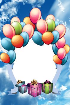 "Photo from album ""Скрап-странички"" on Yandex. Birthday Photo Frame, Happy Birthday Frame, Happy Birthday Wishes Cards, Birthday Frames, Birthday Greetings, Birthday Cards, Happy Birthday Images, Picture Borders, Birthday Clipart"