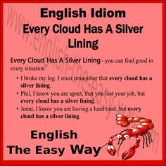 English Lesson I think every situation has a _______ side. 1. good 2. nice 3. both  #Idiom