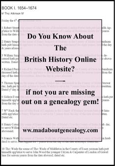Don't miss out, start looking for your ancestors in this website. Most records are free which is great ! Your genealogy will thank you for visiting!