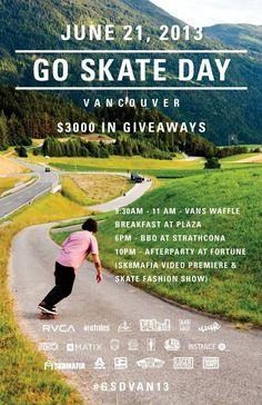 GO SKATE DAY VANCOUVER 2013 (JUNE 21st) #emerica #vancouver