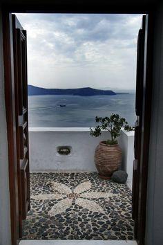 View From Santorini, Greece by CitizenFresh