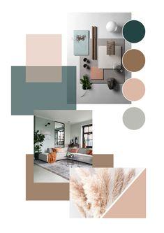 Mood Board Interior, Moodboard Interior Design, Interior Design Boards, Paint Colors For Home, House Colors, Interior Design Presentation, Color Inspiration, Moodboard Inspiration, Diy Bedroom Decor