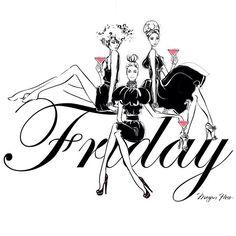 Friday by Megan Hess