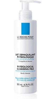 Tout savoir sur Lait Démaquillant Physiologique, un produit de la gamme Toilette Physiologique de La Roche-Posay recommandé pour Peaux sensibles, déshydratées. Conseils d'experts gratuits