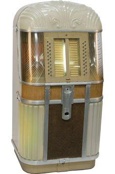 Vintage AMI Model B Jukebox c1948