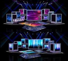 Best fashion show stage backdrops set design ideas Bühnen Design, Tv Set Design, Stage Set Design, Church Stage Design, Display Design, Booth Design, Event Design, Stage Lighting Design, Screen Design