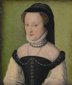 Madame de Châtillon, ca. 1560-1565 (Corneille de Lyon)    Indianapolis Museum of Art     C10026