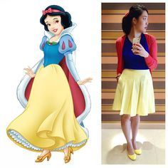 Easy do it yourself snow white halloween costume via c0lleefl0wer snow white make a wish into the well thats all you have to do and if you hear it echoing your wish will soon come true solutioingenieria Image collections