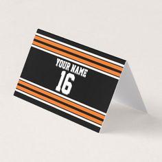 Easter bonnet giraffe gift tags set diy bg black orange team jersey custom number name place card negle Image collections