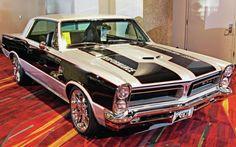 Las Vegas Sema Car Showcase 1965 Pontiac GTO