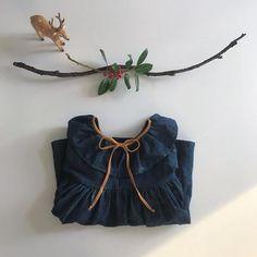 indigo linen dressing – liilu