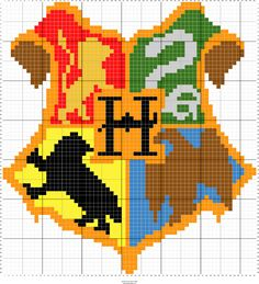 Stitch Fiddle is an online crochet, knitting and cross stitch pattern maker. Pixel Art Harry Potter, Harry Potter Minecraft, Harry Potter Perler Beads, Harry Potter Crochet, Harry Potter Diy, Harry Potter Cross Stitch Pattern, Cross Stitch Pattern Maker, Cross Stitch Patterns, Graph Paper Drawings