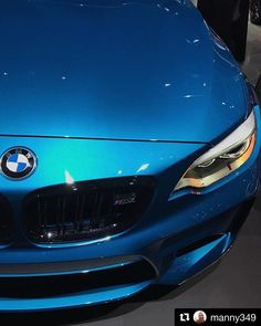 M2 coupe never looked so good #LAAutoShow