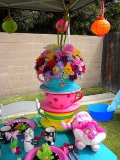Alice in Wonderland & Tea Party theme decor