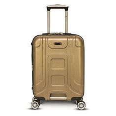 Luggage Sets Collections   Gabbiano Provence Collection 26 inch Upright Spinner Golden ** Continue to the product at the image link. Note:It is Affiliate Link to Amazon. #5likes