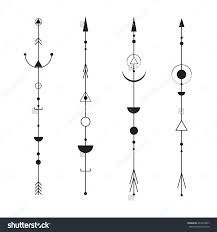 Image result for arrow tattoos with universe