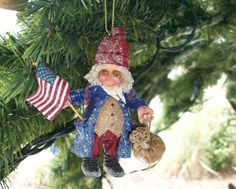 Drolleries, Christmas Spirit Ornament by Demdaco, New In Box