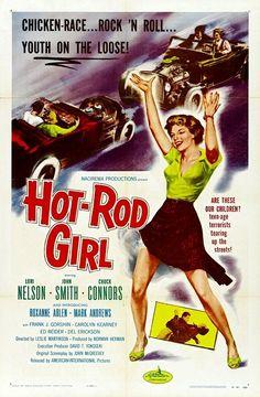 Hot-Rod Girl (1956) Lori Nelson,  Chuck Connors,  John Smith