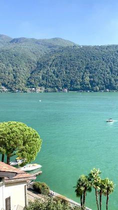 Morcote Lake Lugano Summer Photography, Travel Photography, Best Of Switzerland, Picnic Spot, Lugano, Beautiful Hotels, Cabin Homes, Lake Como, Summer Activities