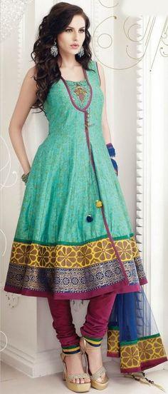 Churidar Kameez Shalwar Eid-Ul-Adha Festive Collection 2013-14 for Women