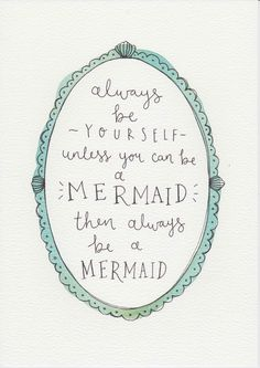 1000 Ideas About Watercolor Mermaid On Pinterest