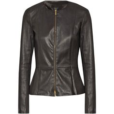 c64a1e39e7 The Row Anasta stretch-leather jacket ( 3