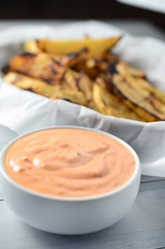 Harissa Aioli- quick, easy, creamy and spicy. You're going to want to put it on all the things.