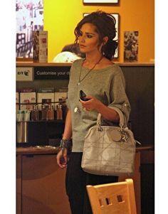 Cheryl Cole wearing Fiona Paxton chain cuff