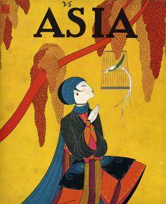 Dreamy Art Deco Magazine Covers for Asia Magazine by Frank McIntosh Art Deco Illustration, Harlem Renaissance, Alphonse Mucha, Cover Art, Fashion Magazine Cover, Magazine Covers, Art Vintage, Vintage Vogue, Antique Art